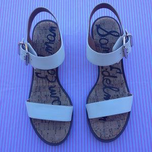 fa9aa13bd2b04f Sam Edelman Shoes - Sam Edelman Trixie Sandal in White Size 9